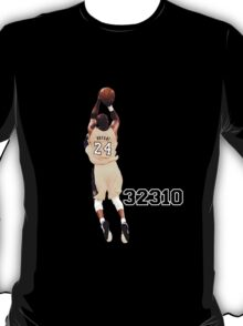 Kobe Bryant  All Time Scoring 32310  T-Shirt