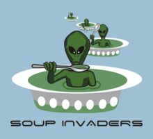 SOUP INVADERS by ToastedGhost