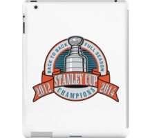 Back to Back Full Season Champions - Retro  iPad Case/Skin