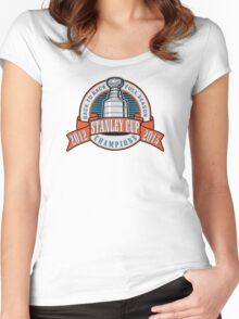 Back to Back Full Season Champions - Retro  Women's Fitted Scoop T-Shirt