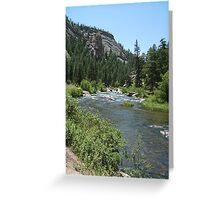 11 Mile Canyon Greeting Card