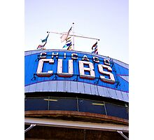 wrigley field bleachers Photographic Print