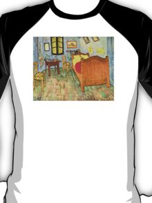 'Van Gogh's Bedroom' by Vincent Van Gogh (Reproduction) T-Shirt