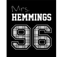 Mrs. Hemmings 96 black Photographic Print
