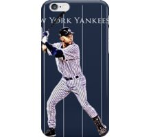 New York Yankees Captain Derek Jeter iPhone Case/Skin