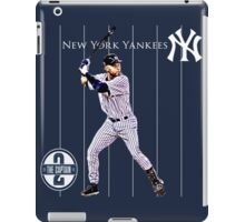 New York Yankees Captain Derek Jeter iPad Case/Skin