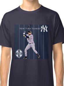 New York Yankees Captain Derek Jeter Classic T-Shirt