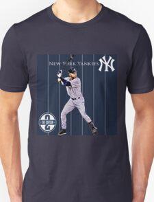 New York Yankees Captain Derek Jeter Unisex T-Shirt