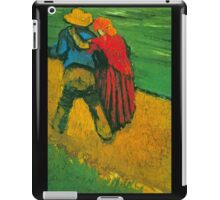 'Two Lovers' by Vincent Van Gogh (Reproduction) iPad Case/Skin