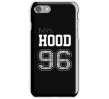 Mrs. Hood 96 black iPhone Case/Skin