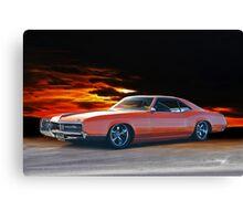 1966 Buick Riviera Custom Canvas Print