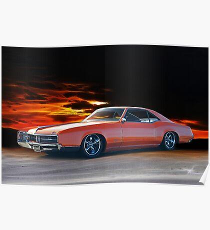 1966 Buick Riviera Custom Poster
