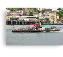The Kingswear Castle  Canvas Print
