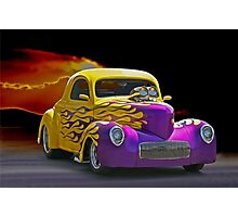 1941 Wild Willys Coupe Photographic Print