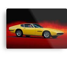 1967 Maserati Ghilbi Metal Print