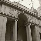 NY Library by Charles Adams