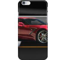 2014 Chevrolet Corvette 'Showroom' iPhone Case/Skin