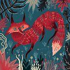 Fox 2 by Karl James Mountford