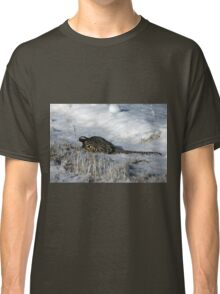 Rooster Pheasant in the snow Classic T-Shirt
