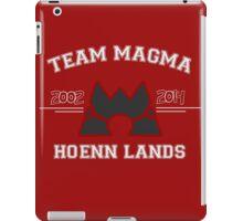 Team Magma iPad Case/Skin