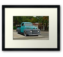 1950 Ford Pickup Truck Framed Print