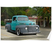 1950 Ford Pickup Truck Poster