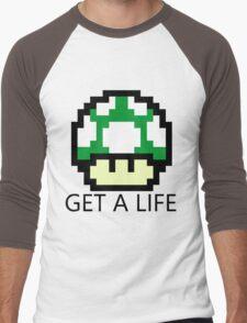 Get A Life Men's Baseball ¾ T-Shirt