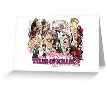 Xillia 2 Characters (ToX 2) Greeting Card