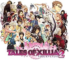 Tales Of Xillia 2 Characters Photographic Print