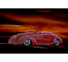 1938 Ford Cabriolet Photographic Print