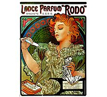 'Lance Parfum' by Alphonse Mucha (Reproduction) Photographic Print