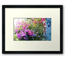 Confusion of Colours Framed Print