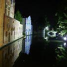 Bruges Canal by skaranec1981