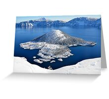 Crater Lake National Park Greeting Card