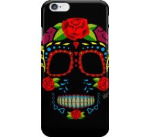 Skull mexican style !!! iPhone Case/Skin