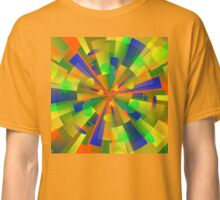 Color Burst Kaleidoscope Classic T-Shirt
