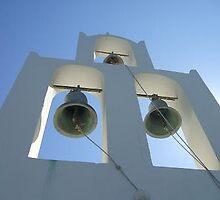 Santorini Bells by Elizabeth Stevens