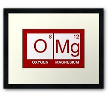 O-Mg - Oxygen Magnesium Framed Print