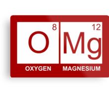 O-Mg - Oxygen Magnesium Metal Print