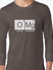 O-Mg - Oxygen Magnesium Long Sleeve T-Shirt