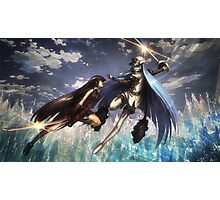 Akame vs Esdeath Photographic Print