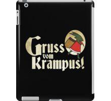 Gruss vom Krampus! iPad Case/Skin