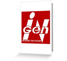 InGen: We Make The Future Greeting Card