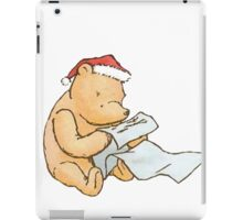 Pooh - Making a List iPad Case/Skin