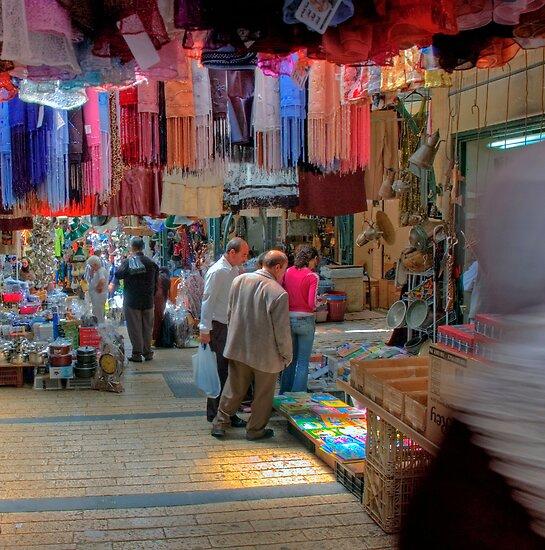 Nazareth, Old City Market by Eyal Nahmias