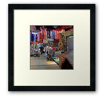 Nazareth, Old City Market Framed Print