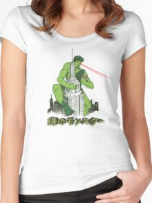 Green Monster Women's Fitted Scoop T-Shirt