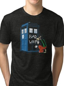 Big Bad Wolf Tri-blend T-Shirt