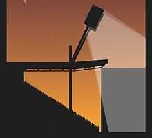 Stadium Art - Vicarage Road Silhouette by AndersonDesign