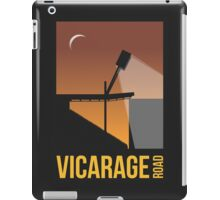 Stadium Art - Vicarage Road Silhouette iPad Case/Skin